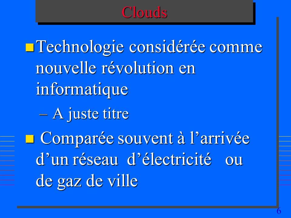 Technologie considérée comme nouvelle révolution en informatique