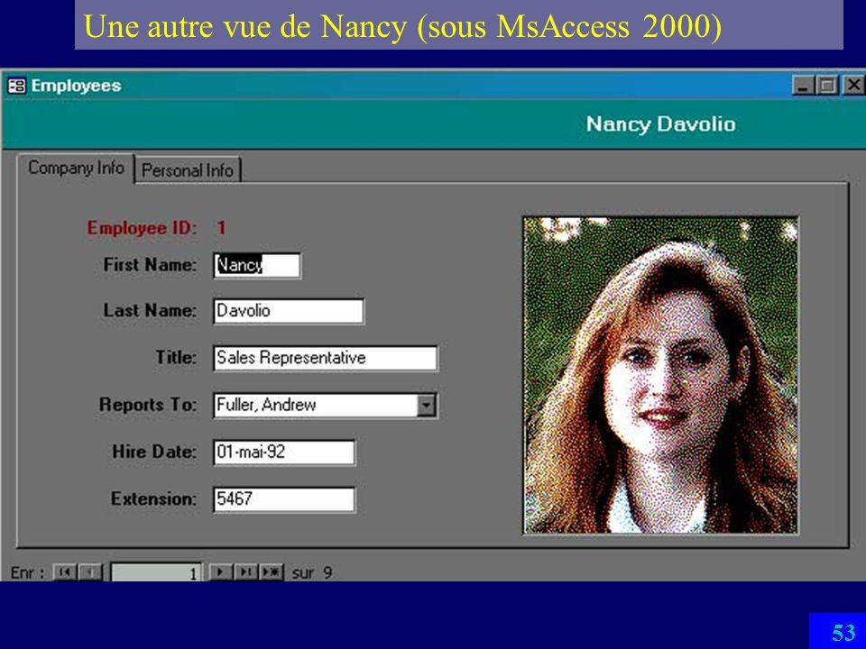 Une autre vue de Nancy (sous MsAccess 2000)