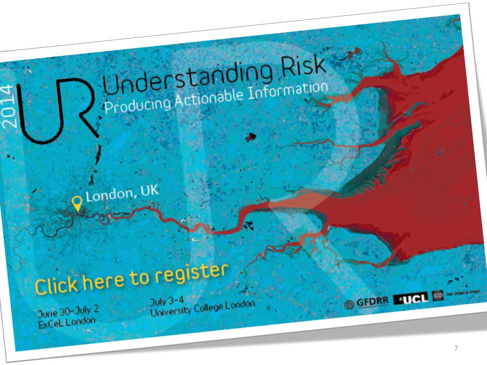 Understanding Risk (UR): une approche, une communauté et quelques principes