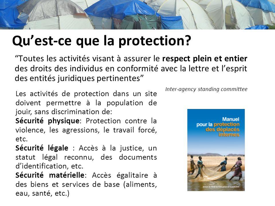 Qu'est-ce que la protection