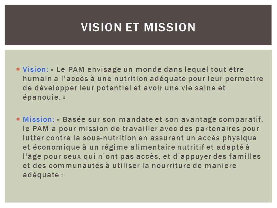 Vision et mission