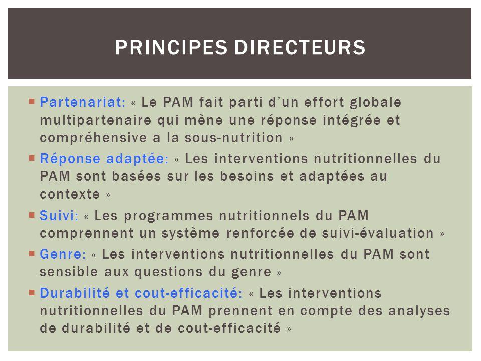 Principes directeurs