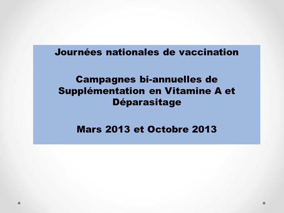 Journées nationales de vaccination