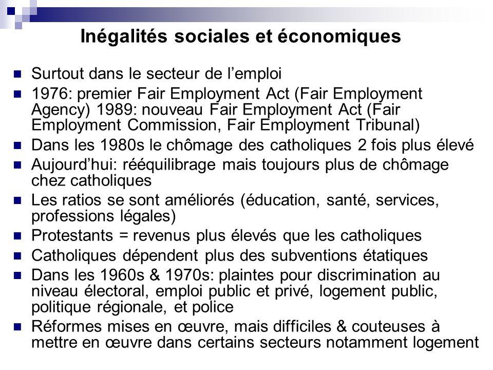 Inégalités sociales et économiques