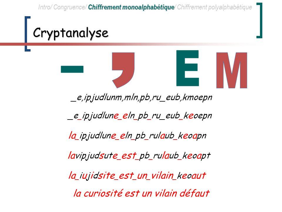E , M _ Cryptanalyse la_ipjudlune_eln_pb_rulaub_keoapn
