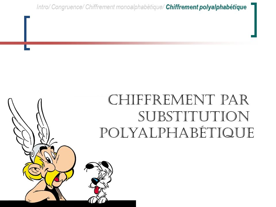 Chiffrement par substitution polyalphabétique