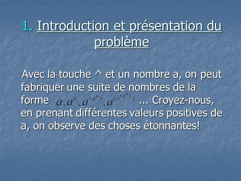 1. Introduction et présentation du problème