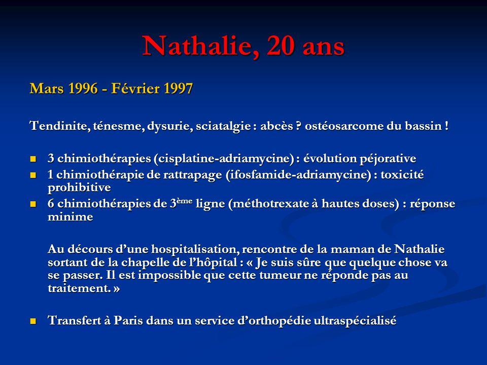 Nathalie, 20 ans Mars 1996 - Février 1997