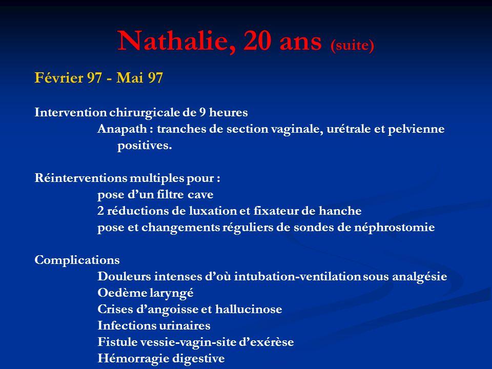 Nathalie, 20 ans (suite) Février 97 - Mai 97