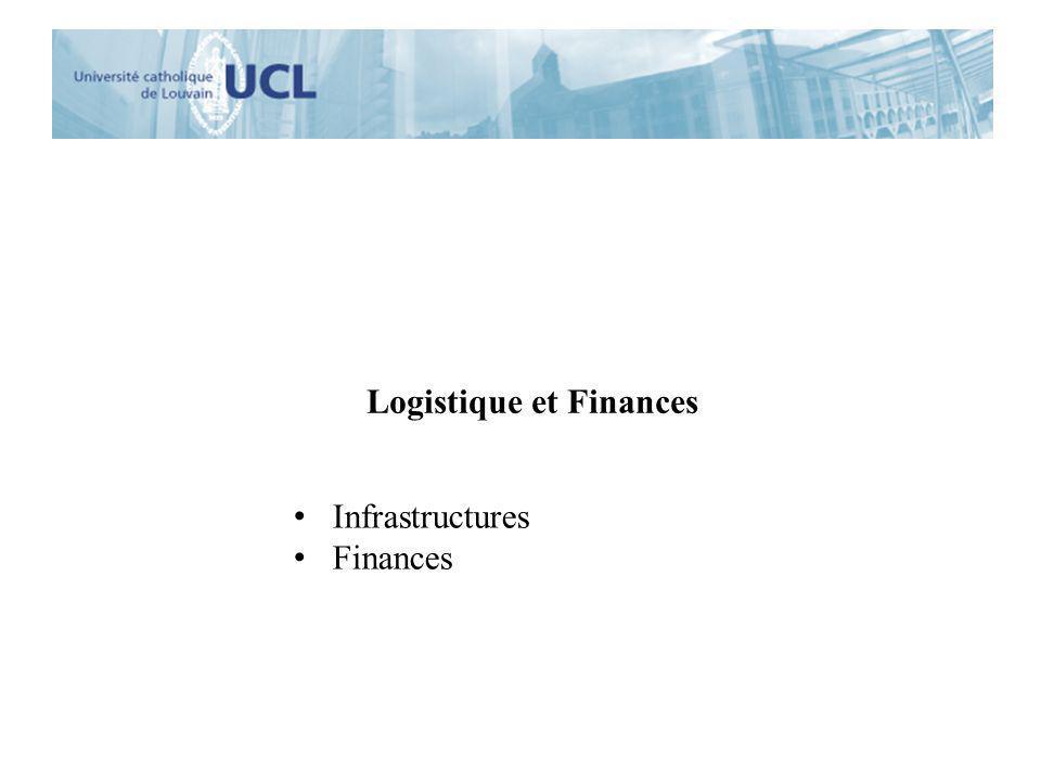 Logistique et Finances