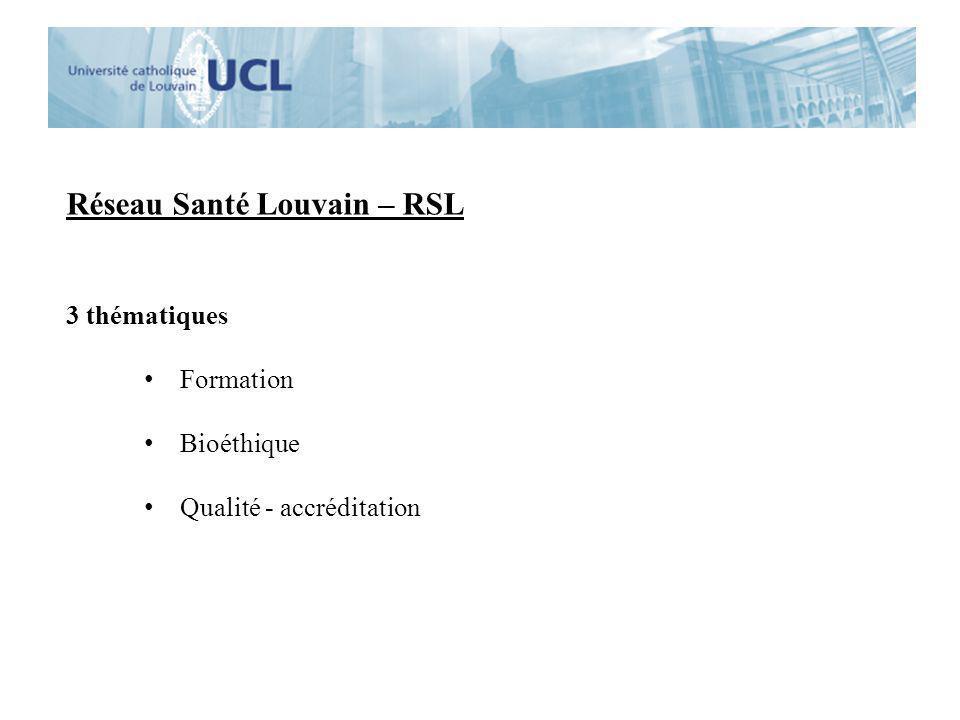 Réseau Santé Louvain – RSL