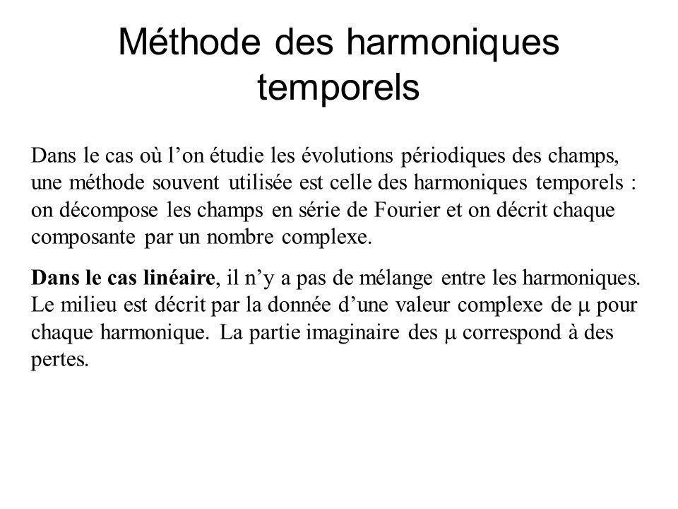 Méthode des harmoniques temporels
