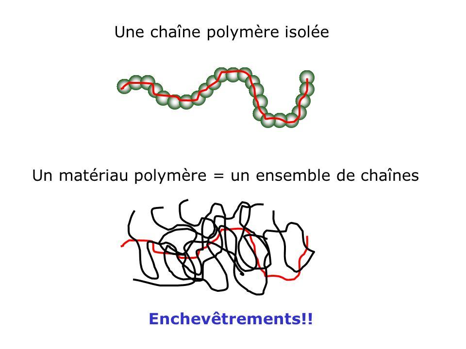 Une chaîne polymère isolée