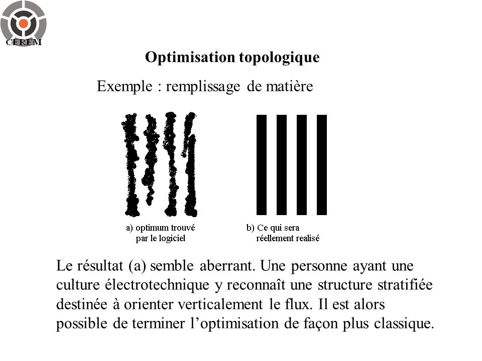 Optimisation topologique