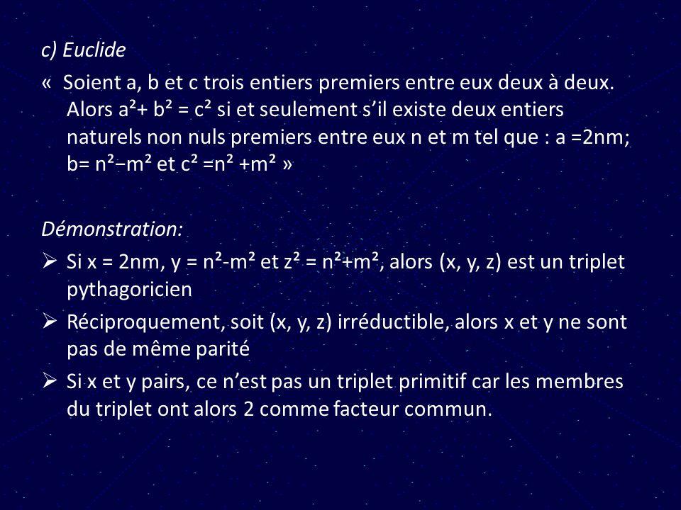 c) Euclide