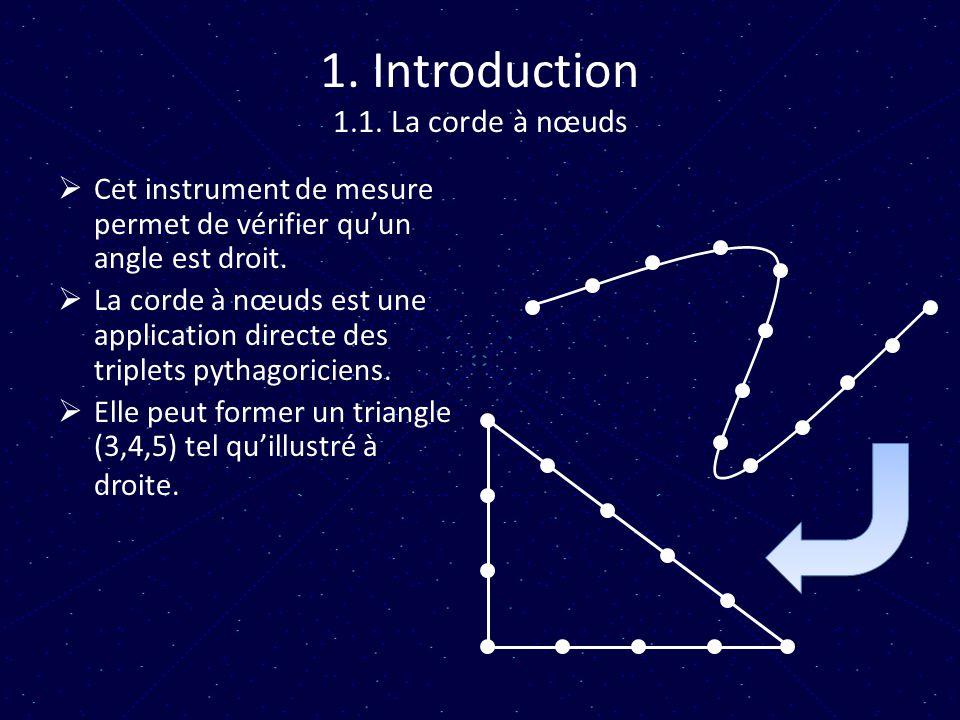 1. Introduction 1.1. La corde à nœuds