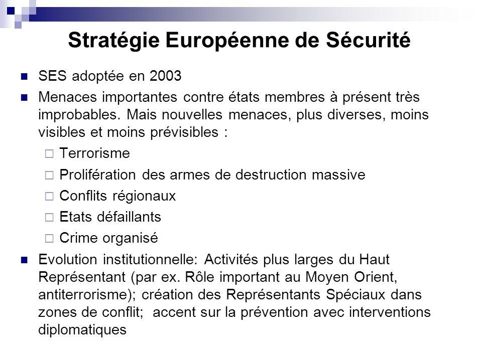 Stratégie Européenne de Sécurité
