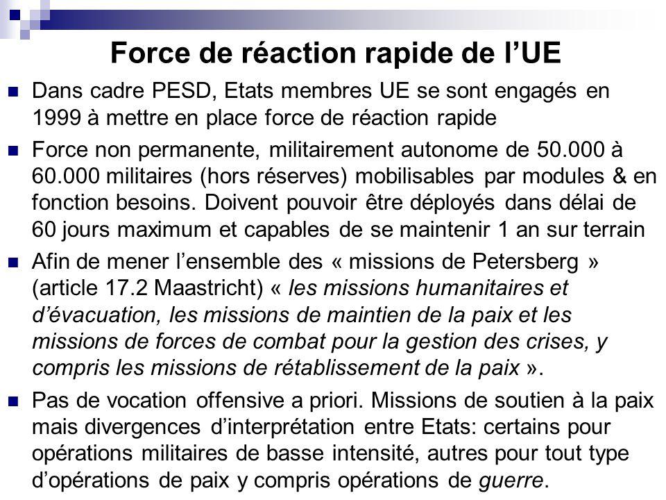 Force de réaction rapide de l'UE
