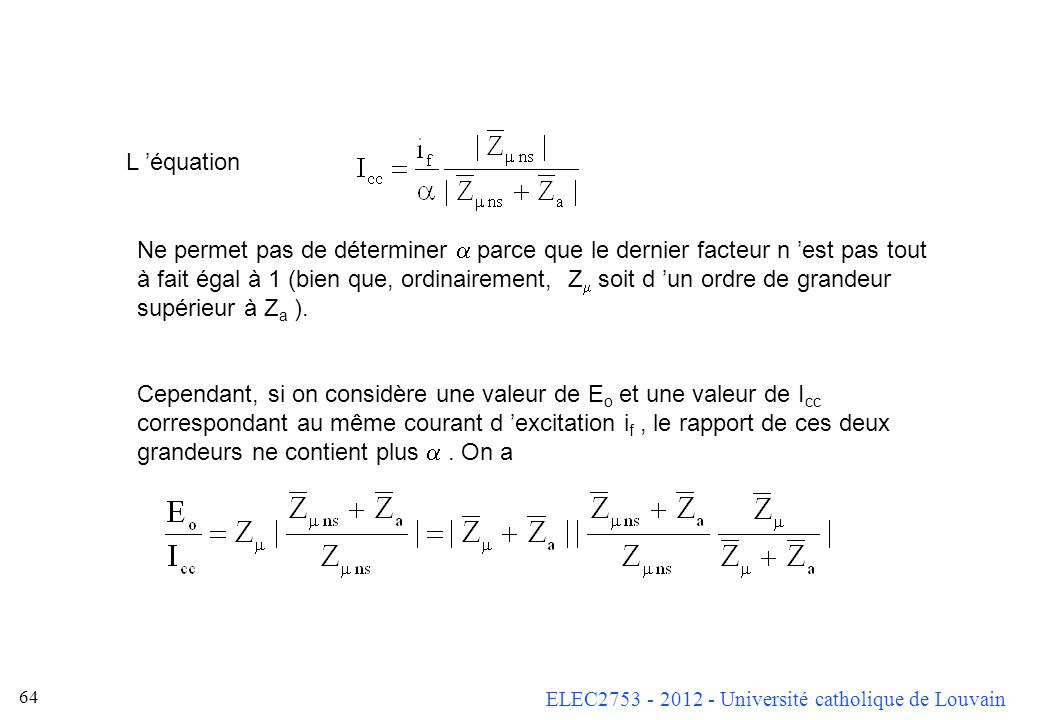 L 'équation