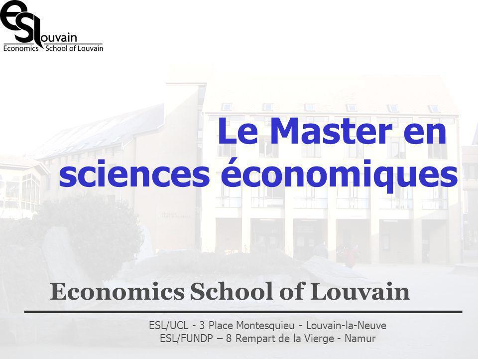 Economics School of Louvain