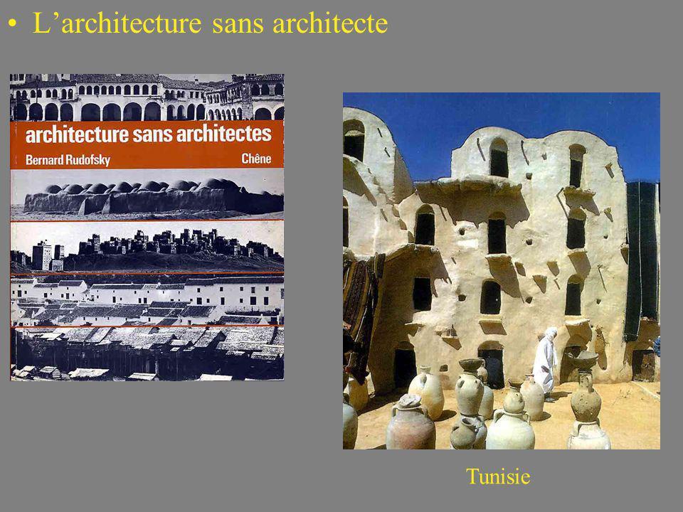L'architecture sans architecte
