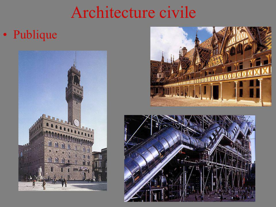 Architecture civile Publique