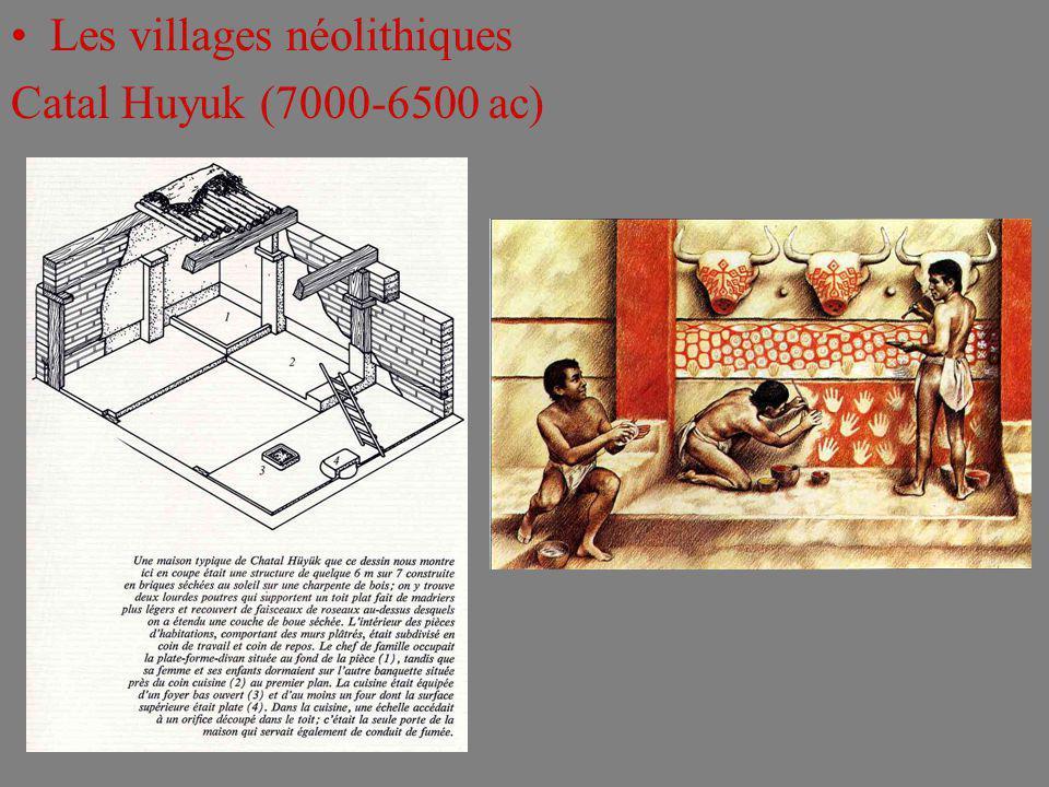 Les villages néolithiques