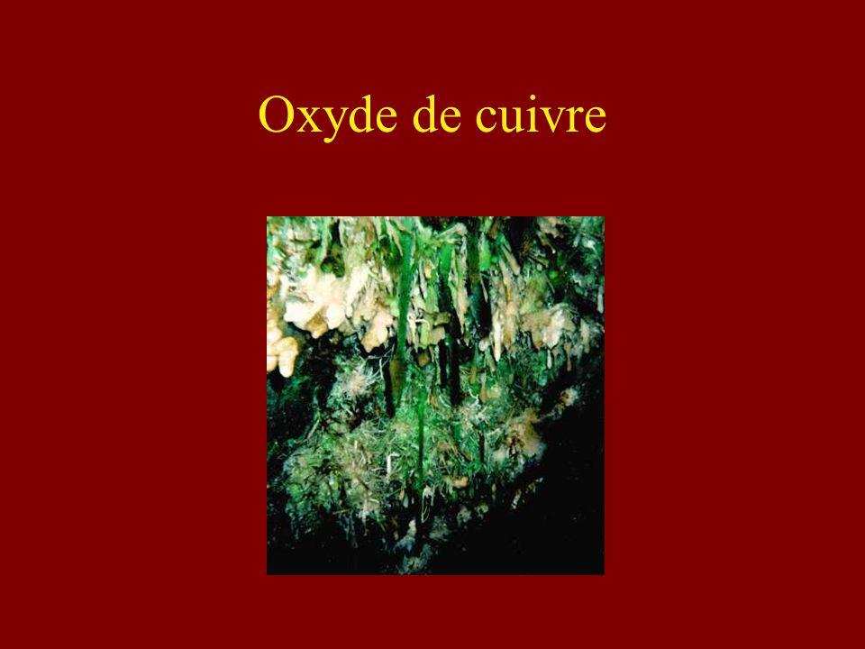Oxyde de cuivre