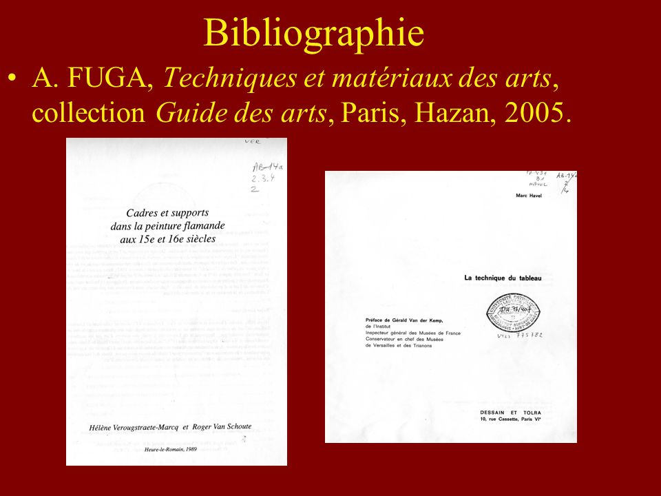 Bibliographie A.