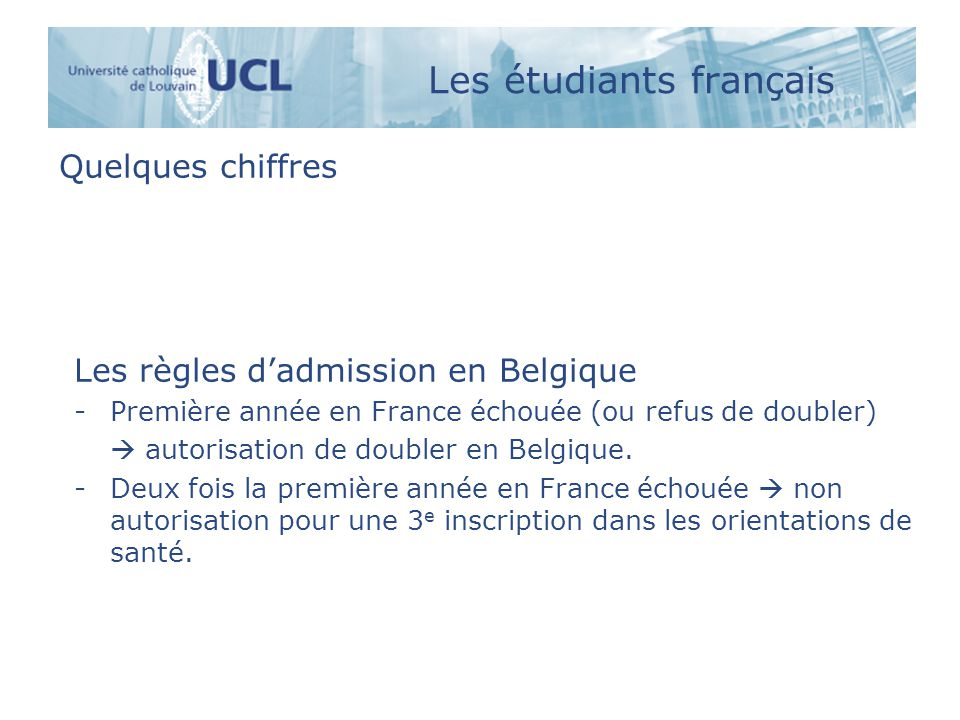 Les étudiants français