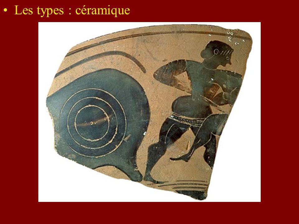 Les types : céramique