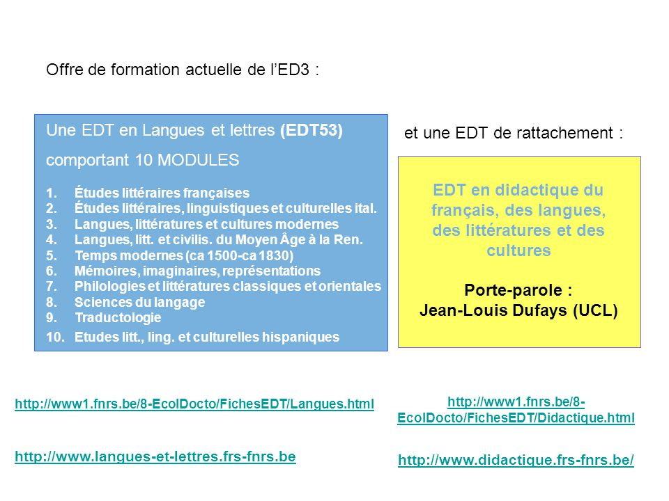 Jean-Louis Dufays (UCL)
