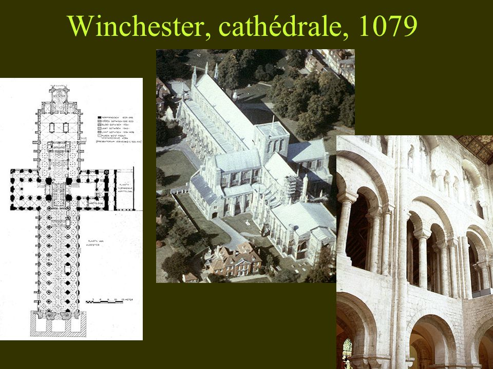 Winchester, cathédrale, 1079