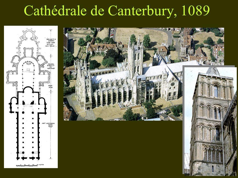 Cathédrale de Canterbury, 1089