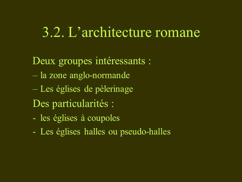 3.2. L'architecture romane