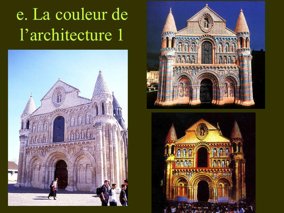 e. La couleur de l'architecture 1