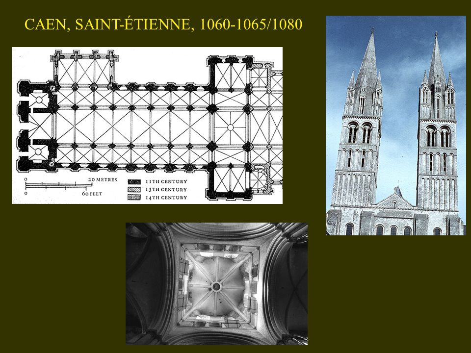 CAEN, SAINT-ÉTIENNE, 1060-1065/1080