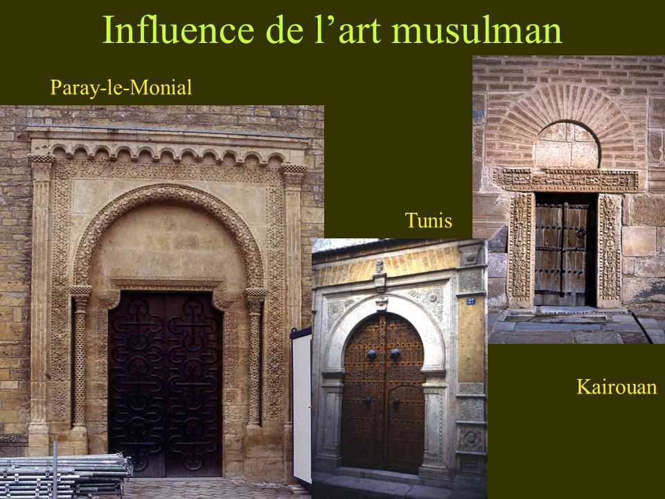 Influence de l'art musulman