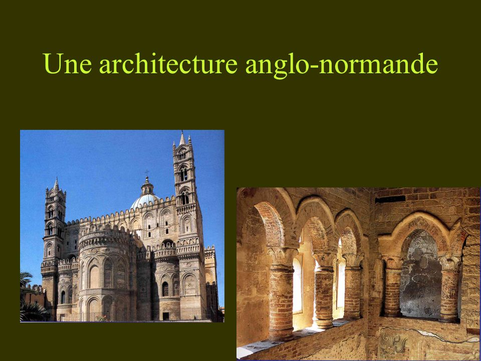 Une architecture anglo-normande