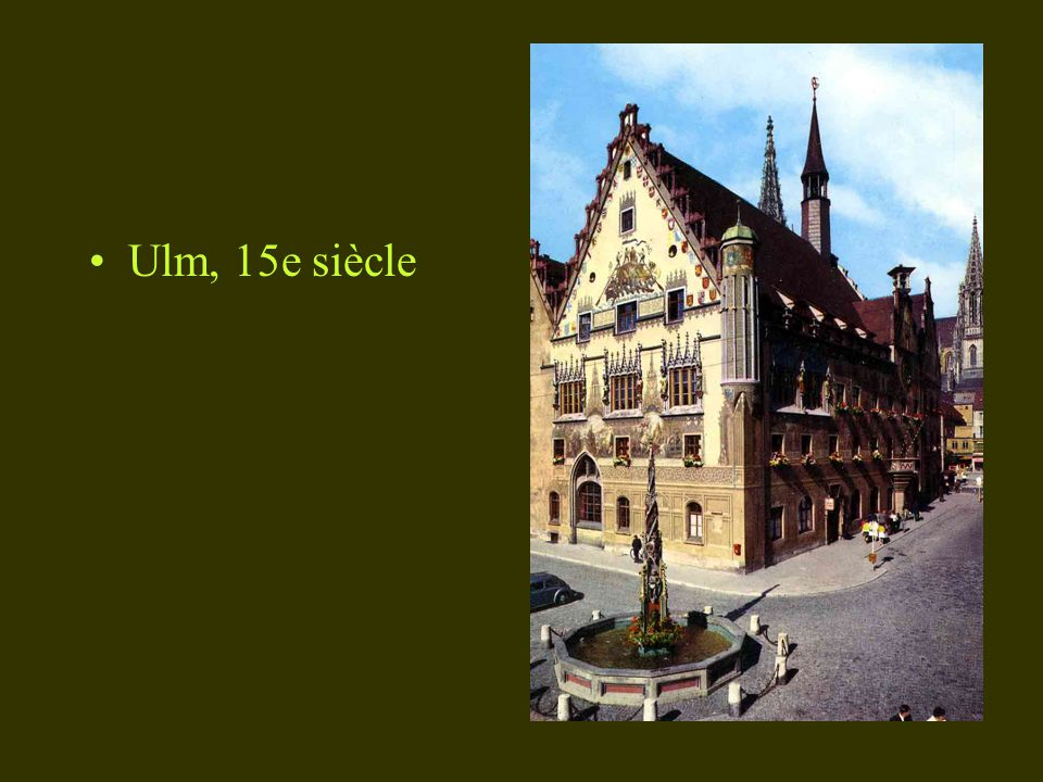 Ulm, 15e siècle