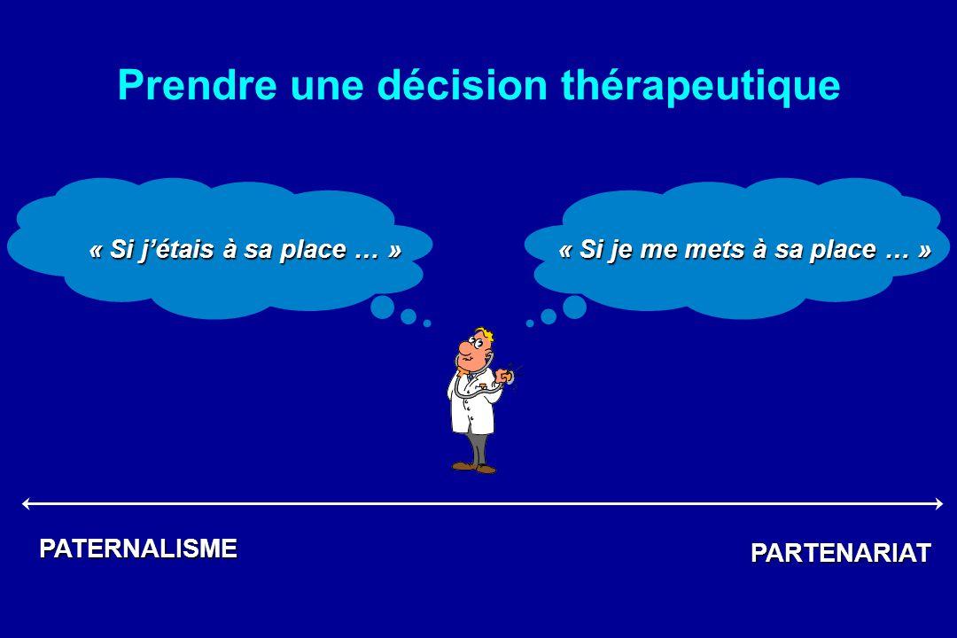 Prendre une décision thérapeutique « Si j'étais à sa place … »