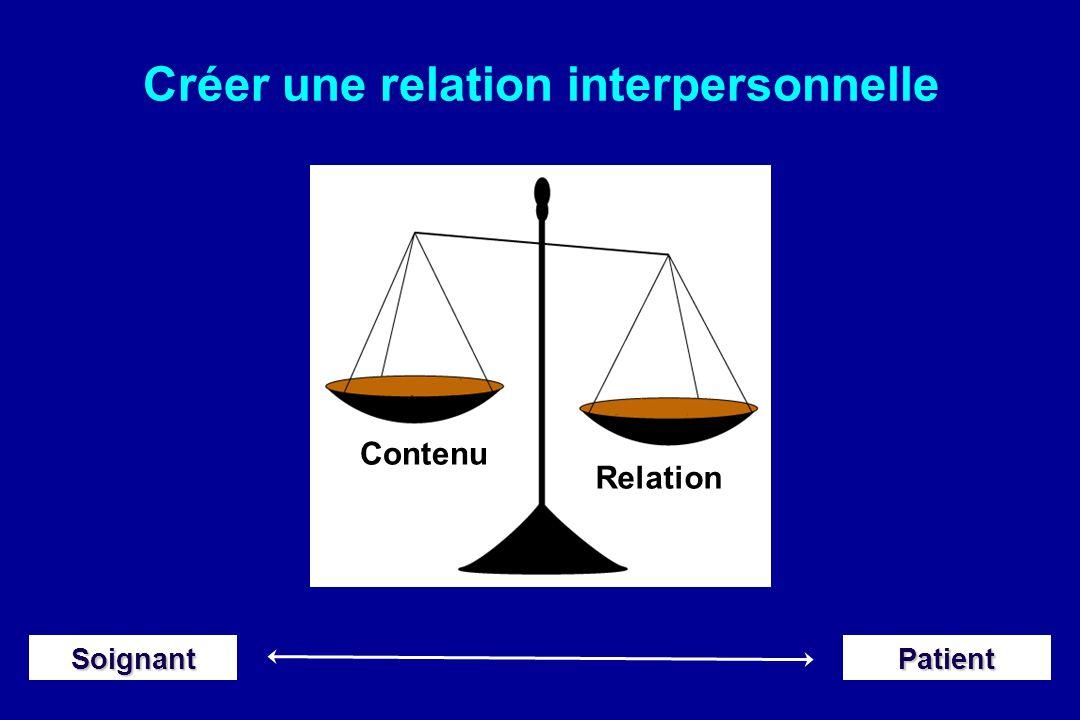 Créer une relation interpersonnelle