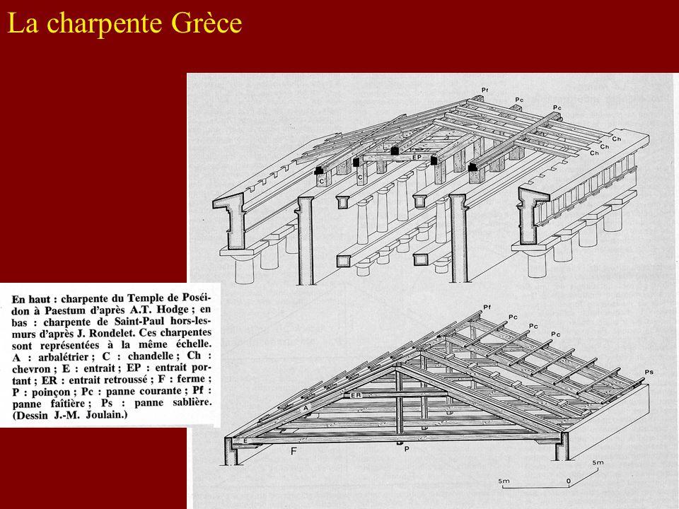 La charpente Grèce