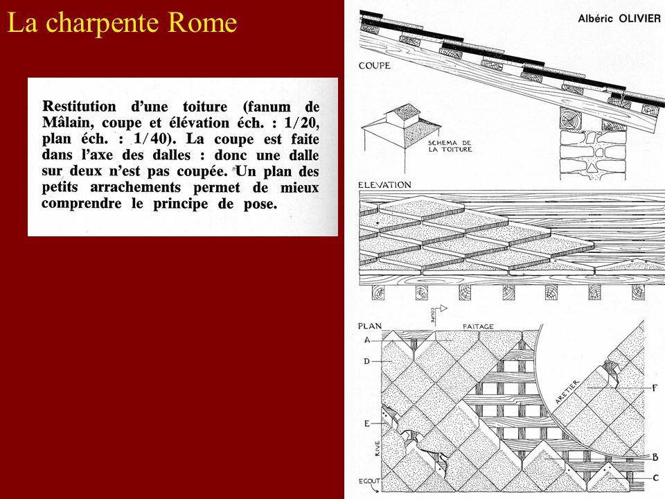 La charpente Rome