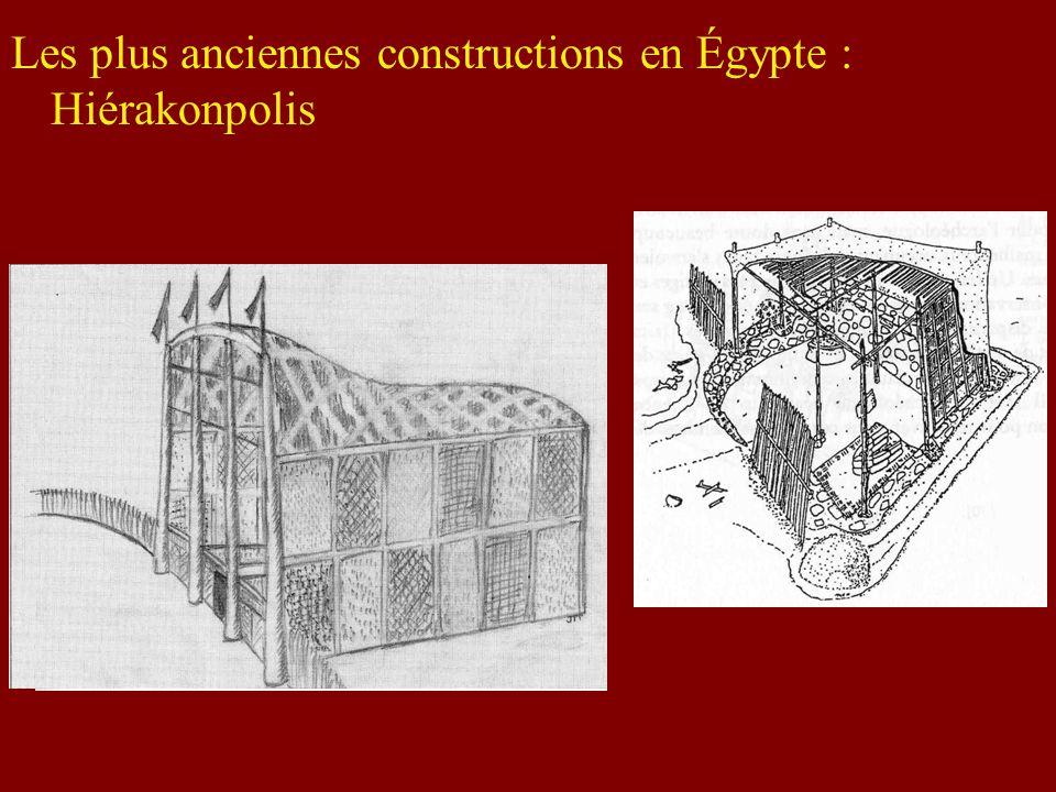 Les plus anciennes constructions en Égypte : Hiérakonpolis