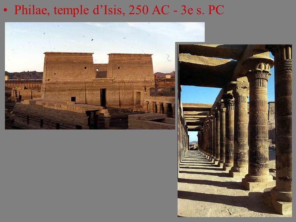 Philae, temple d'Isis, 250 AC - 3e s. PC