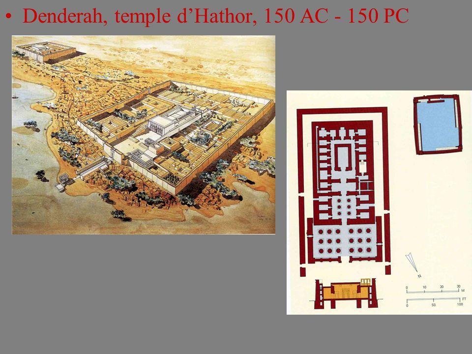 Denderah, temple d'Hathor, 150 AC - 150 PC