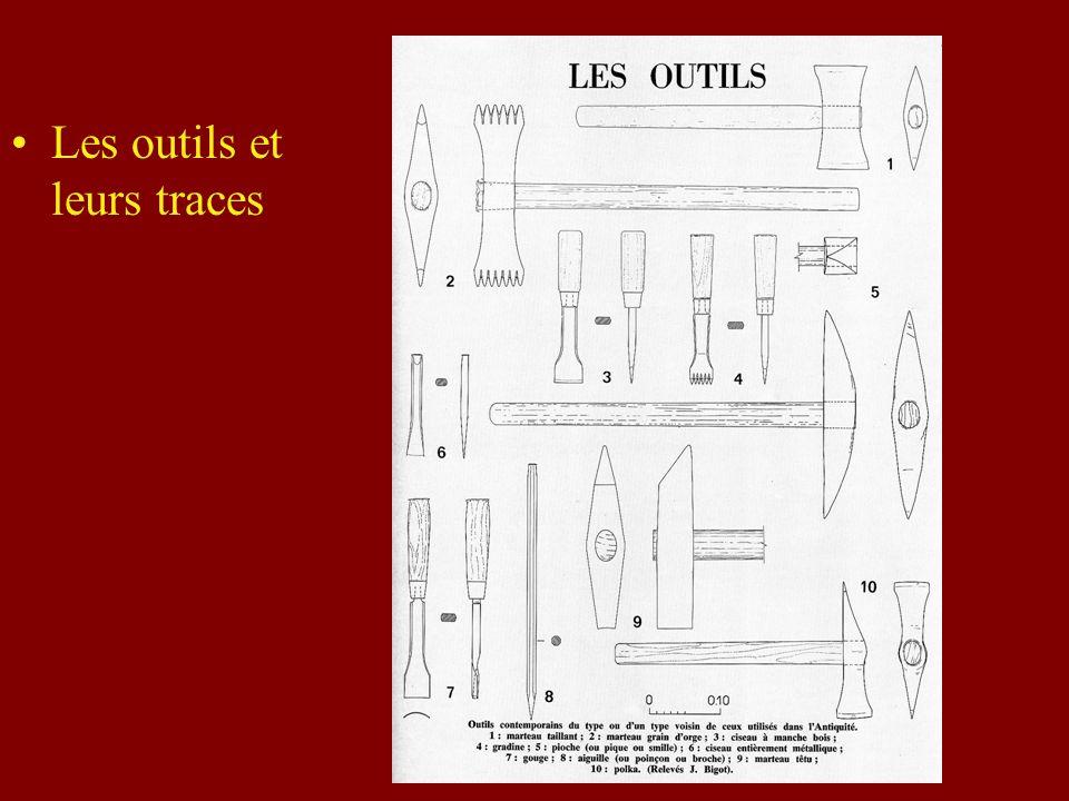 Les outils et leurs traces