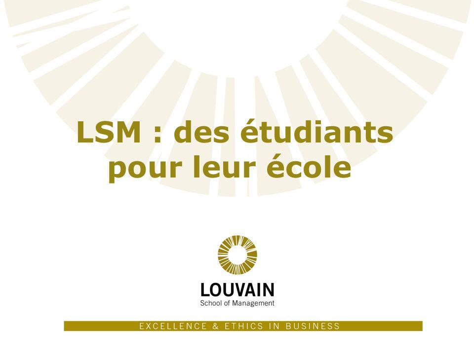 LSM : des étudiants pour leur école