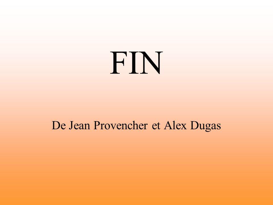 De Jean Provencher et Alex Dugas